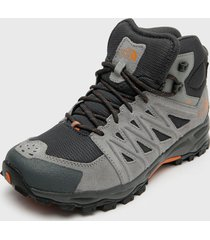 zapatilla outdoor m trcukee mid wp gris the north face