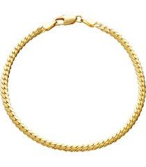 bracciale placcato oro per donna
