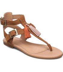 w lecia shoes summer shoes flat sandals brun ugg