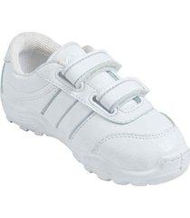 zapatos lineablanca aeroflex blanco unicolor lt1640