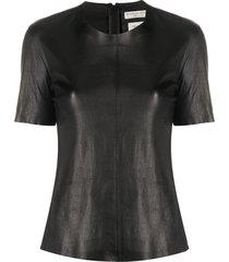 bottega veneta tailored t-shirt - black