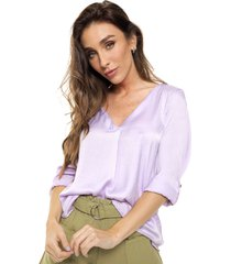 blusa violeta miss bling mora