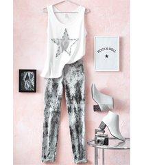 jeans skinny (nero) - rainbow