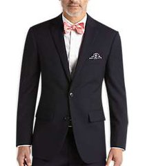 pronto uomo navy modern fit suit