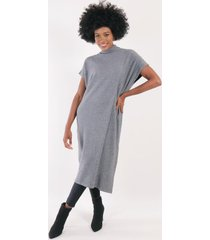 vestido lana valentina gris night concept