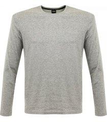 hugo boss medium grey style shirt rn long sleeve t-shirt 50297498