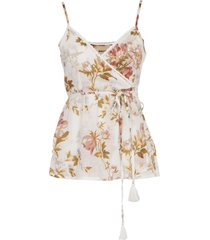 semicouture floral top