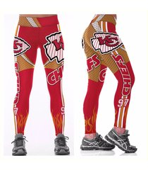 nfl chiefs leggings -#97 womens fan gear - kansas city chiefs - fan gift idea