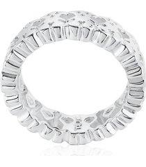 anillo tous puppies 615270031 plateado mujer