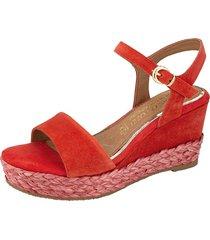 sandaletter marco tozzi röd