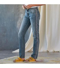 driftwood jeans women's audrey artisan jeans in light denim 32x31