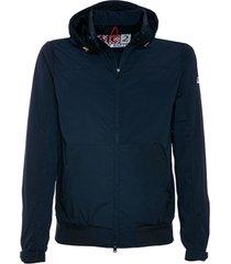 blu navy zip jacket