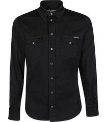 dolce & gabbana flat pockets shirt