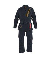 kimono jiu jitsu pretorian roll preto