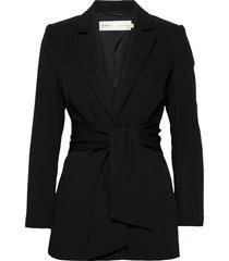 voxiw blazer blazers business blazers zwart inwear