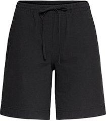 sc-cissie shorts flowy shorts/casual shorts svart soyaconcept