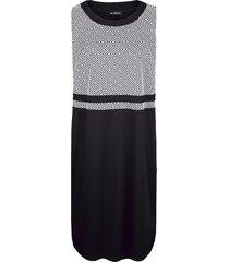 klänning & liten jacka m. collection svart::vit