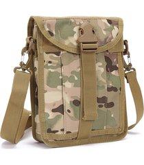 impermeabile nylon outdoor multi-funzionale tactical borsa crossbody borsa per gli uomini