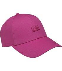 gorra ck signature embroidery bb rosa calvin klein