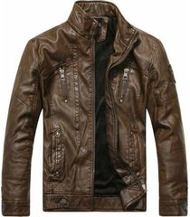 men antique brown biker leather jacket, biker leather jacket men