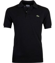 lacoste polo regular fit zwart l1212/031