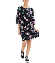 motherhood maternity printed shift dress