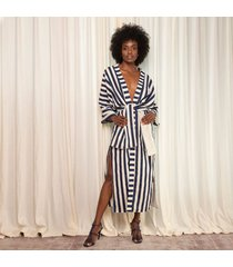 kimono estampado azul para mujer gala kimono gala-estampado-s