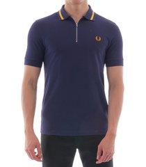 vinyl tipped polo shirt  m6508-266