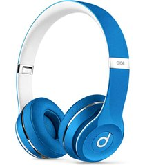 audífonos diadema alámbricos beats solo2 2.0 - azul
