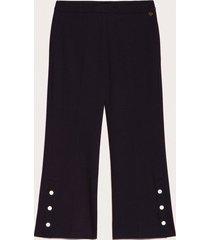twin-set pantalon zwart
