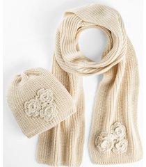 sciarpa e berretto (set 2 pezzi) (beige) - bpc bonprix collection