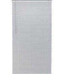 persiana horizontal em pvc block 160x140cm branca