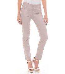 pantalon para mujer en dril color beige talla 8