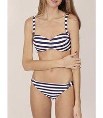 bikini admas 2-delige push-up bandeau bikiniset sailor