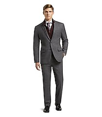 1905 collection slim fit plaid men's suit clearance by jos. a. bank