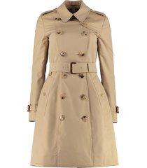 burberry heritage the chelsea medium trench coat