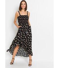 gedessineerde maxi jurk van lenzing™ ecovero™