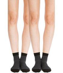 women's belly bandit 2-pack compression ankle socks