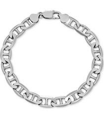 mariner link chain bracelet in sterling silver