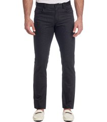 robert graham men's tailored-fit woven pants - black - size 40 34