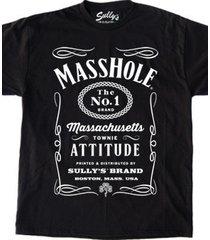 masshole #1 brand attitude black male female unisex vintage t-shirt gift