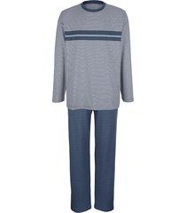 pyjama babista blauw/grijs
