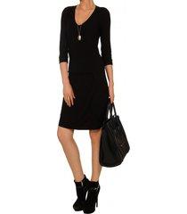 sukienka czarna z wiskozy