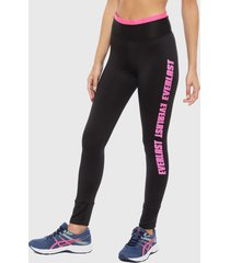 legging everlast long roadway cam negro - calce ajustado
