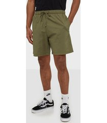 levis walk short shorts green