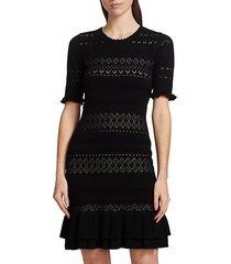 chantal knit sheath dress