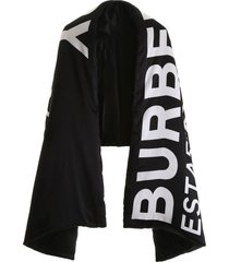 burberry horseferry padded scarf