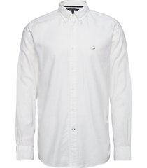 basic herringb shirt skjorta casual vit tommy hilfiger