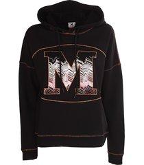 m missoni sweatshirt, black,