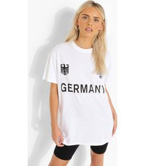 duitsland voetbal t-shirt, white